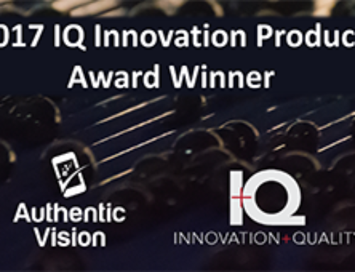 The IQ Innovation Award 2017 goes to Authentic Vision