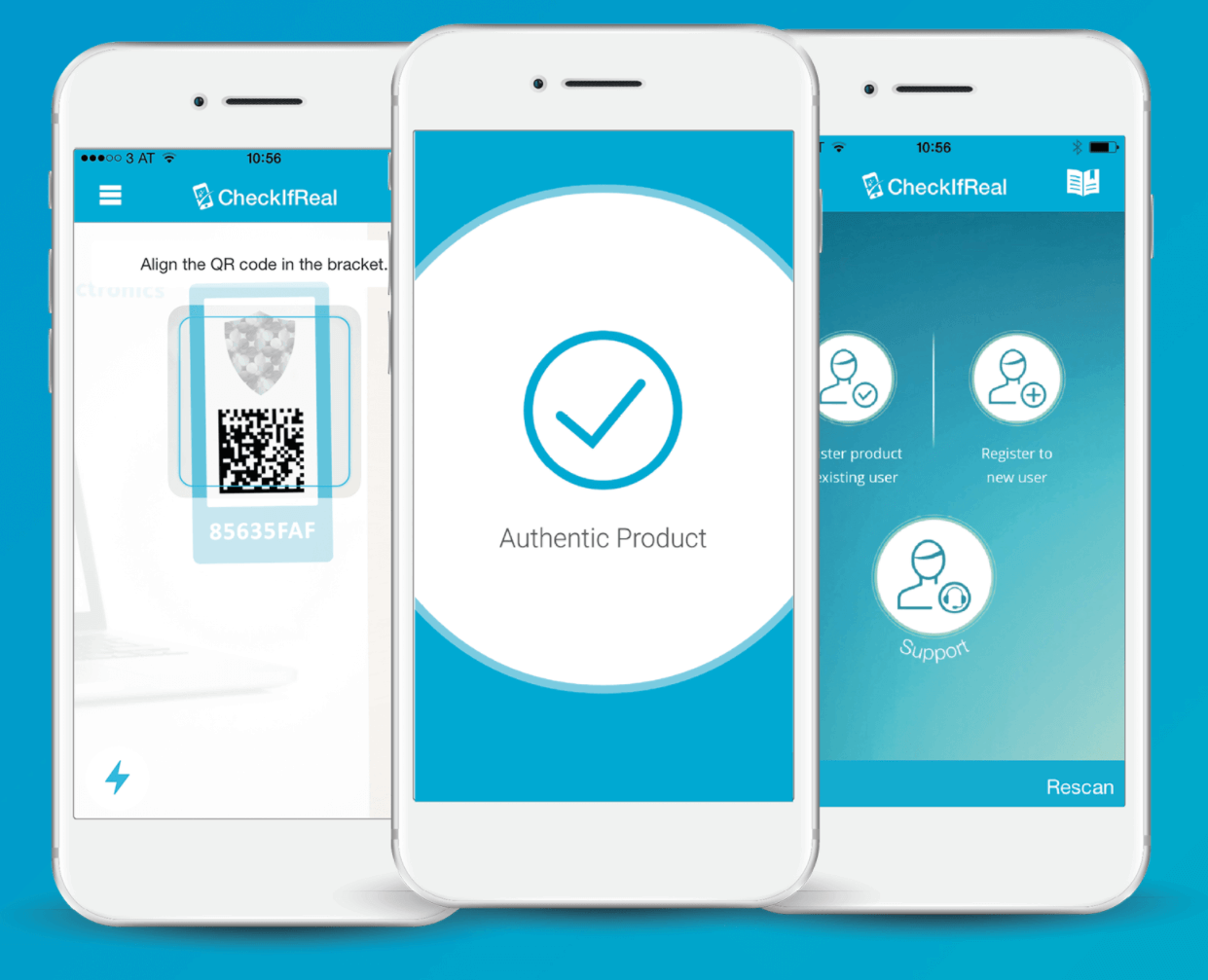 automated mobile product authentication
