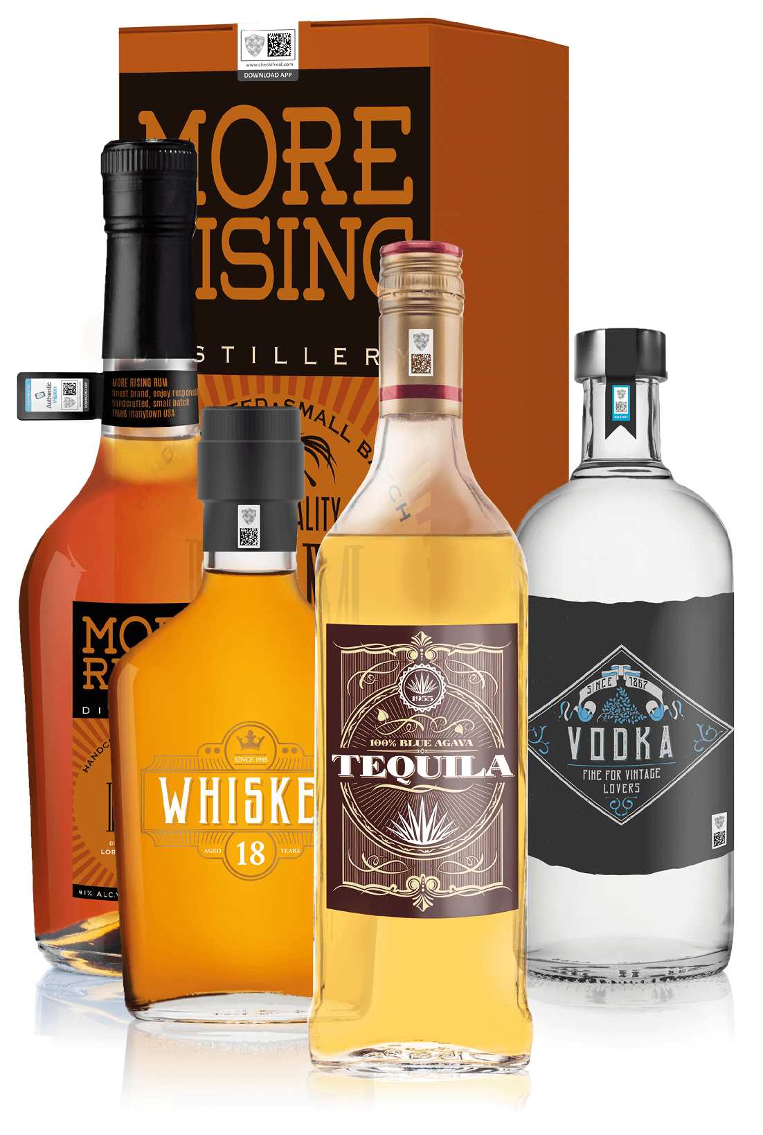 product authentication, spirits