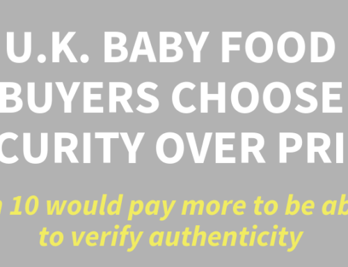 U.K. Baby Food Buyer Survey Highlights Importance of Anti Counterfeiting Efforts
