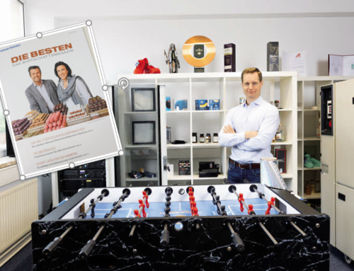 Anti Counterfeiting and Brand Protection Momentum: Authentic Vision Recognized Among Best Start Ups by Salzburg News