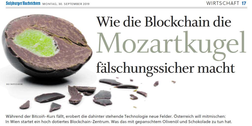 Salzburger Nachrichten Blockchain