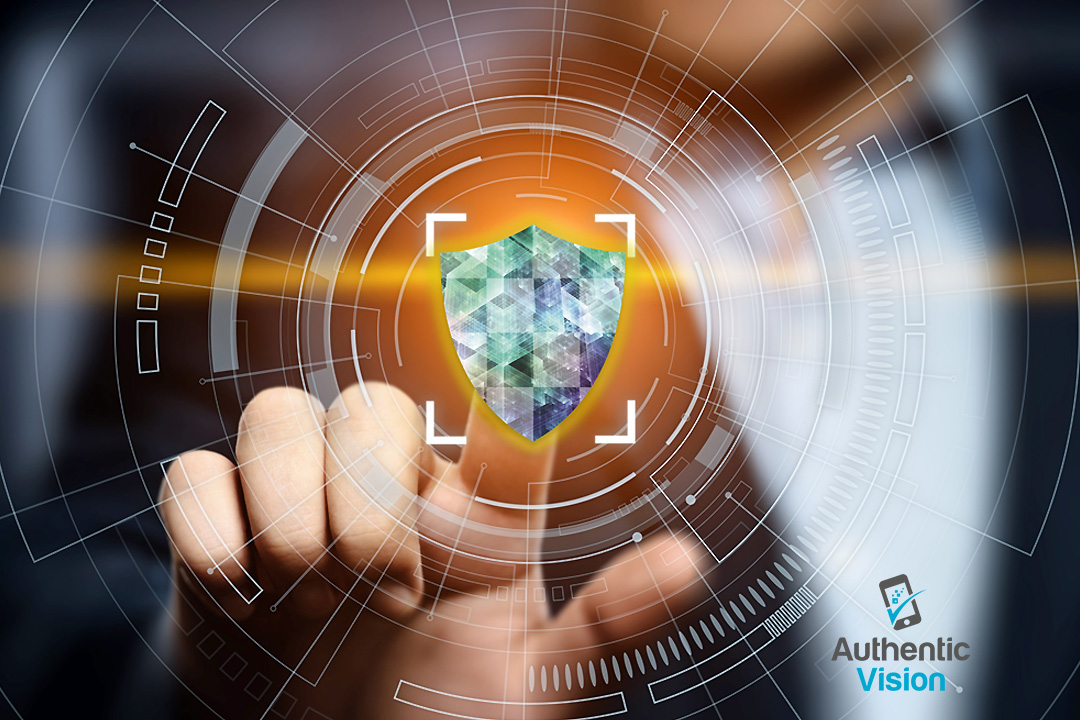 QR and Holographic Fingerprint